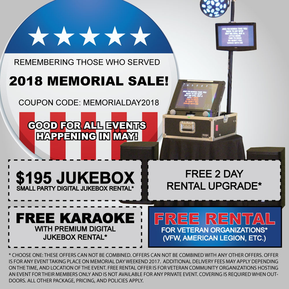 jukebox rental prices and karaoke machine rental prices. Black Bedroom Furniture Sets. Home Design Ideas